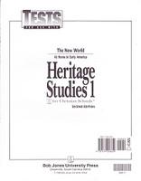 Heritage Studies 1, 2d ed., Tests & Test Key Set