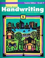 Zaner-Bloser Handwriting, Grade 4 Teacher Edition