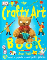 DK Crafty Art Book, 50 creative projects--perfect presents