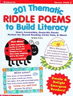 201 Thematic Riddle Poems to Build Literacy