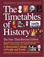 Timetables of History, 3d revised edition, The