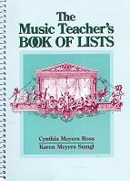 Music Teacher's Book of Lists, The