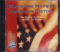 Blackline Maps of United States History: Shaping Nation