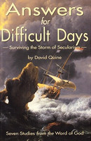 Answers for Difficult Days: Surviving Storm of Secularism (MATL0093)