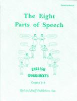English 3-5: Eight Parts of Speech, Worksheet Teacher Manual (SOL02616)