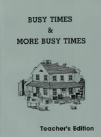 Busy Times & More Busy Times 2, Workbook Teacher Edition (SOL03322)