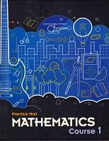 Prentice Hall Mathematics, Course 1; student text