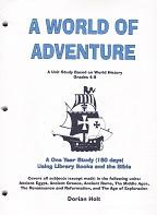 World of Adventure: Unit Study on World History, Teacher's