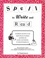 Spell to Write and Read: K-12 words, proven techniques