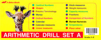 Arithmetic Drill Set A Flashcard Set