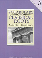 Vocabulary from Classical Roots, Level A, Workbook & Key Set