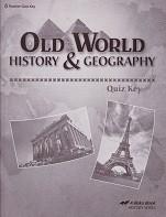 Old World History & Geography 5, Quiz Key