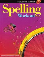 Spelling Workout F, Teacher Edition