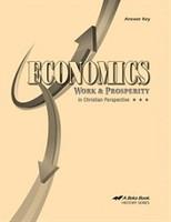 Economics 12, Work & Prosperity, Text Answer Key