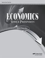 Economics 12, Work & Prosperity, Quiz-Test Key