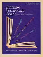 Building Vocabulary Skills, 2d ed., Instructor Edition