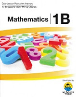 Singapore Primary Math 1B Daily Lesson Plans with Answers