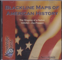 Blackline Maps of American History: Shaping Nation