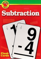 Brighter Child Subtraction Flash Cards