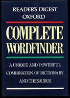 Reader's Digest Oxford Complete Wordfinder
