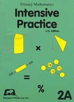 Singapore Math Intensive Practice 2A, workbook