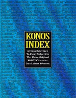 Konos Index: Cross Reference to Every Subject, all Volumes