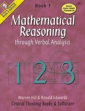 Mathematical Reasoning thru Verbal Analysis, Book 1, Set