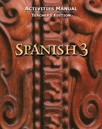 Spanish 3 for Christian Schools, Activities 2 Book Set