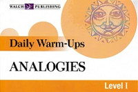Daily Warm-Ups: Analogies, Level 1