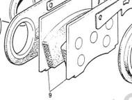 Front Brake Pads, No Sensor-Girling Calip.