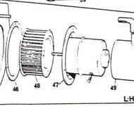 CT6285 Blower Motor