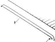 Header Rail Trim 75959 Biege