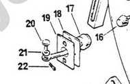 66960 Clevis Pin Door Check Strap