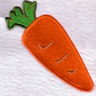 Carrot Embroidered Download