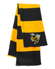 Georgia Tech Bee Black/Gold Sportsman Knit Scarf
