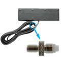 """Low Profile """"Hersey Bar"""" Antenna w/ FME-female to SMA-female Connector - 301152-B"""