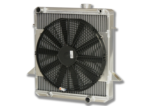 bracket mounted fan shroud