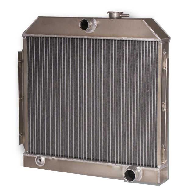 1955-1957 Chevrolet Bel Air/ Impala (6CYL Mount) Aluminum Radiator