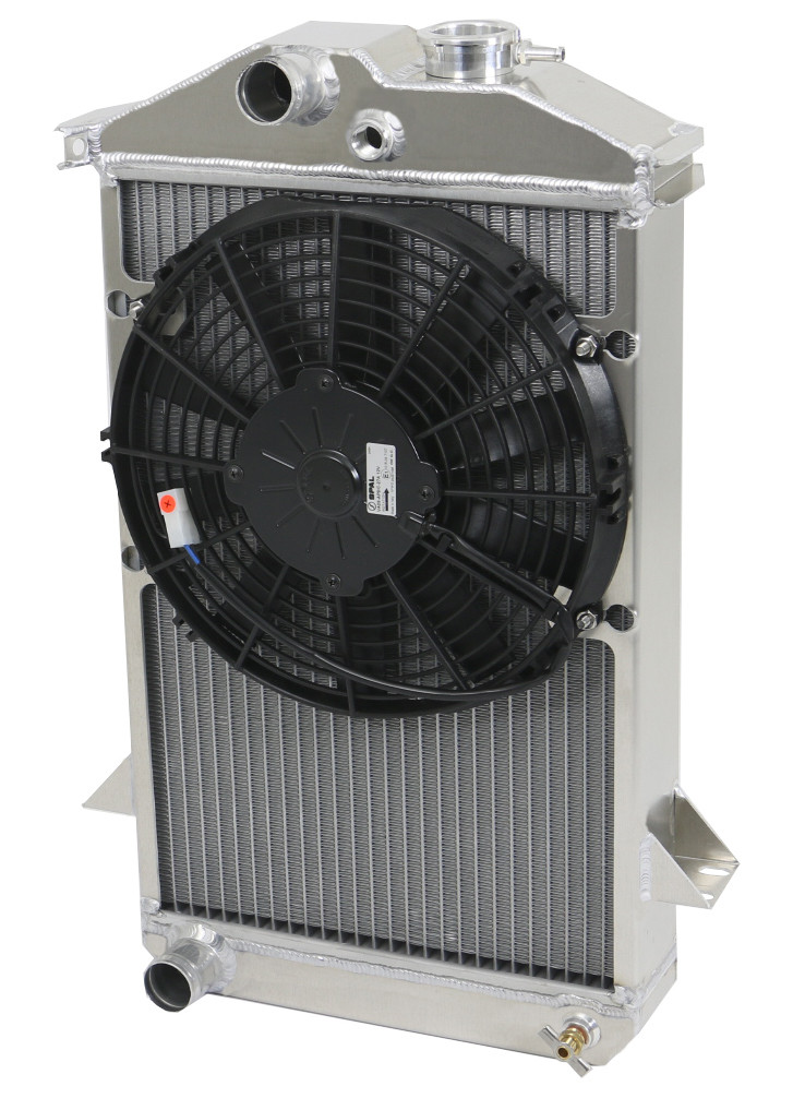 TR4 Radiator with Fan