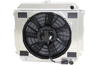 Mopar radiator with Brushless Fan Package