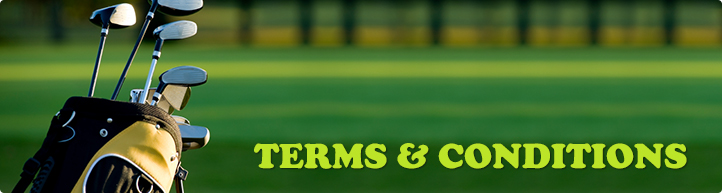 Clubs on the course- terms and conditions