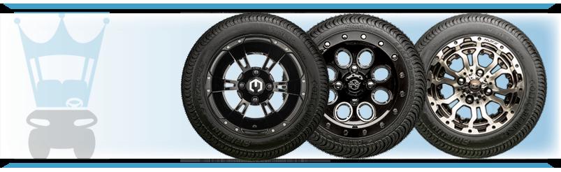 Golf Cart Wheel & Tire Combos