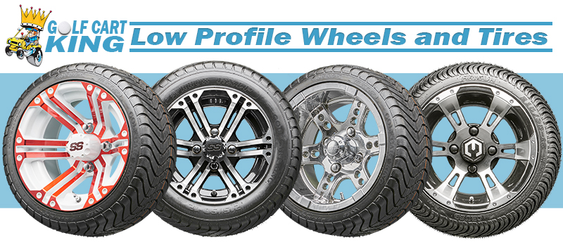 Golf Cart lowpro wheels and tires
