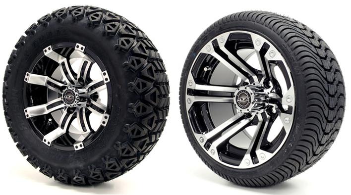 golf cart wheel & tires
