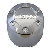 Snap On Center Cap, RHOX Chrome Plastic 2.65