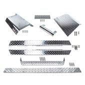 EZGO TXT Diamond Plate Full Accessory Kit 1995-2014