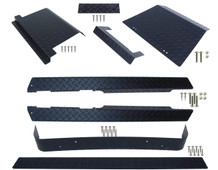 EZGO TXT (Black) Diamond Plate Full Accessory Kit 1995 - 2014