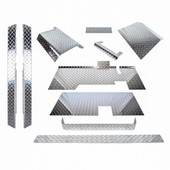 EZGO TXT Diamond Plate Accessorry Kit With Floor 1995-2014
