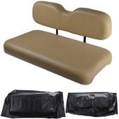 EZGO TXT 1994 and Newer Replacement Front Seat - Black Cushions