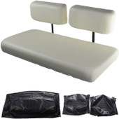 Yamaha G16, G19, G20 and G22 Replacement Front Seat - Black Cushions